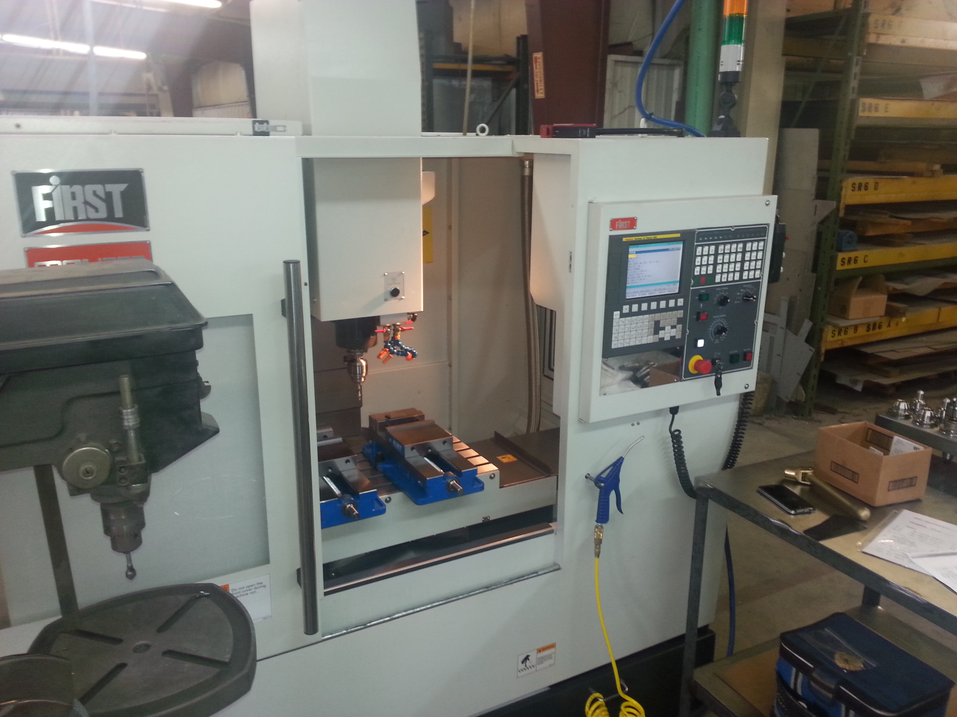 New Milling Machine at Valley Precision