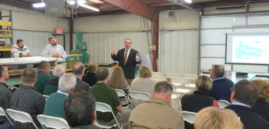 Valley Precision Hosts Industrial Roundtable for Chamber of Commerce